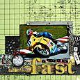 I Like 2 Go Fast - SCRAP N' ART - July/Aug 2008