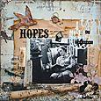 Hopes of Tomorrow - SCRAP N' ART - July/Aug 2008