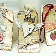 Vintage Tags - LAYERS OF COLORS