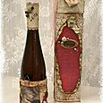 Altered bottle of Vine and Box
