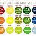 Chalk Edger - Color Map 39 colors