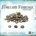 Tiny Junkyard Findings - Clock Parts