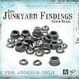 Tiny Junkyard Findings - Screw Heads