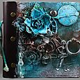 Steampunk Mini Album by Helle Ness-Kvalvik