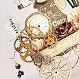 Steampunk Wagon details