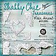 Shabby Chic Treasures - resin - Rose Heart