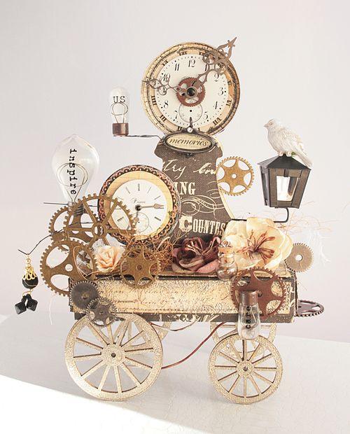 Steampunk Wagon