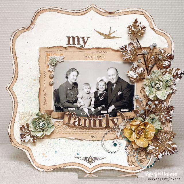 My mother's family - SWIRLYDOOS