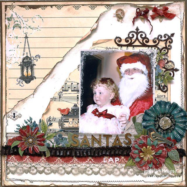 On Santas Lap - THE STUDIO